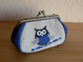 Owl Clutch Purse, 10 cm