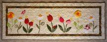 Virágos falvédő