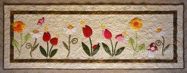Virágos falvédő / Megrendelhető/