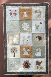 Kids Blanket with Applique