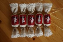 Textil szaloncukor (fahéj illat)