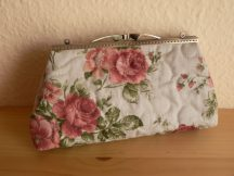 Clutch Dressing Bag with Roses