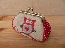 Owl Clutch Purse, 8 cm
