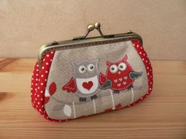 Owl Clutch Purse, 12 cm