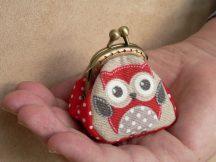Owl Clutch Purse, 4.5 cm