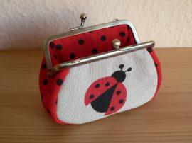 Ladybug Clutch Purse, 10 cm