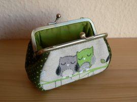 Baglyos pénztárca 12 cm