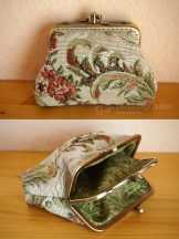 Clutch Purse with Rose