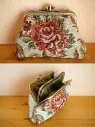 Rózsás romantikus dupla 10 cm