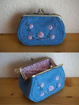 Farmer hímzett pénztárca 12 cm