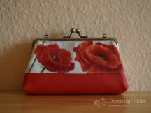 Green Clutch Purse with Trees