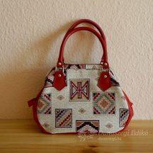 Ladies Handbag with Leather Handles