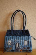 Házikós táska (farmer)