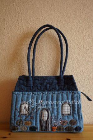 House Shaped Jeans Bag