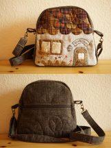 Shoulder Bag with House