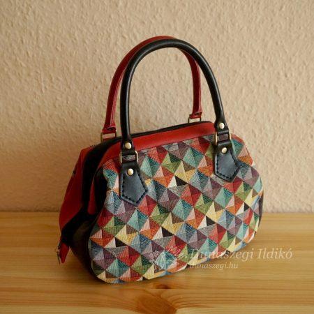 Black and Gray Ladies Bag