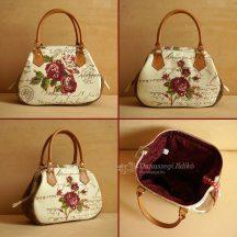 Ladies Bag with Roses