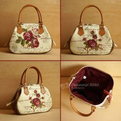 Ladies Bag with Roses