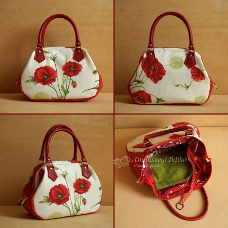Ladies Bag with Poppies