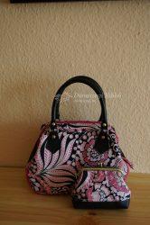 Rózsaszín-fekete szett