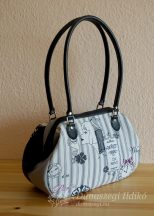 Párizs táska szürkén feketén :-)